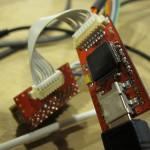 Assembled Floss-JTAG V0.1 Front