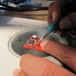 Aligning parts on Floss-JTAG Before Reflow