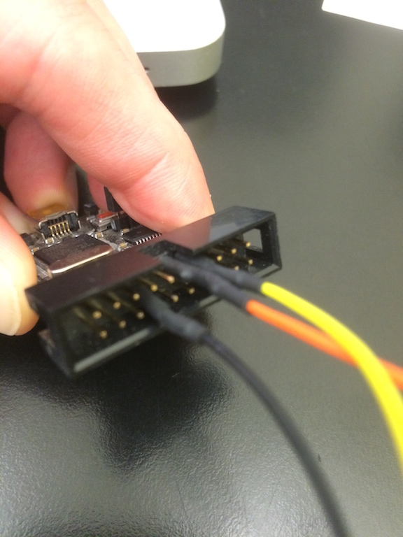 """Black Magic Probe Serial Wire Debug connections for Discovery board """"fixing"""""""